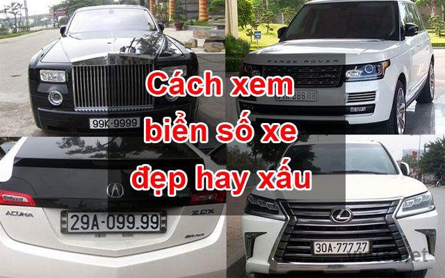 Kiểm tra biển số xe máy, xe ô tô các tỉnh thành cả nước Việt Nam